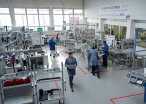 Modellfabrik des Fraunhofer IAO. Bild: Bernd Müller / Fraunhofer IAO