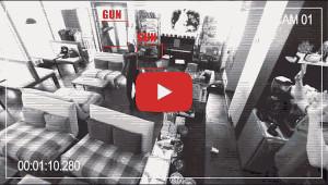 Waffenerkennung durch KI-Kameras. Bild: Athena Security