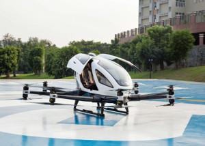 Autonomer, personentragender MulticopterEHang 216. Bild: FACC/IONICA