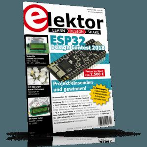 Die neue Elektor-Ausgabe jetzt am Kiosk.