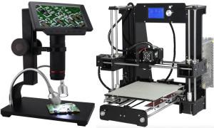 Anet 3D-Drucker und des Andonstar-Mikroskop