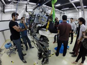 Un pied robotisé pour lancer la Coupe du monde