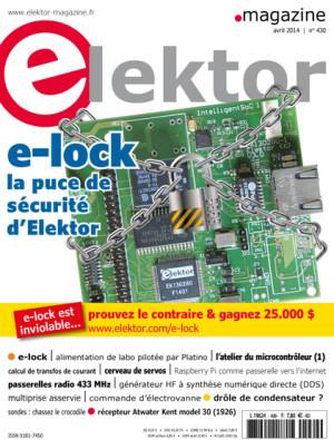 Elektor : le numéro d'avril est en kiosque