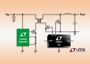 Pilote de MOSFET pour convertisseur direct synchrone