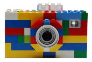 Un appareil photo en Lego