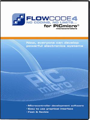 Flowcode 4.X pour PIC  : mise à jour gratuite