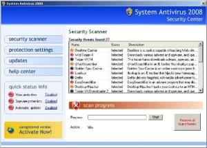Votre antivirus est (p-ê) un faux