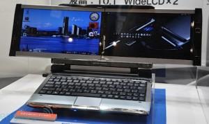 Un PC portable qui voit double