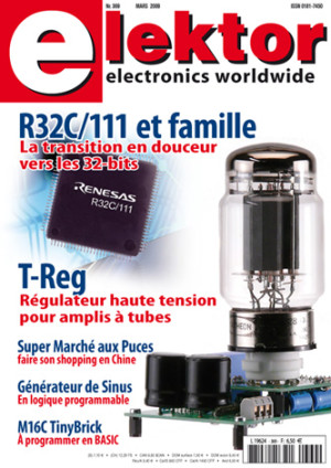 ELEKTOR de mars 2009 : les microcontrôleurs