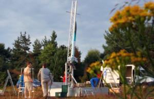 Concours national de fusées expérimentales à Biscarosse