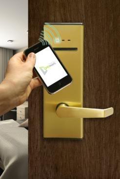 Déverrouillez votre chambre d'hôtel avec votre téléphone
