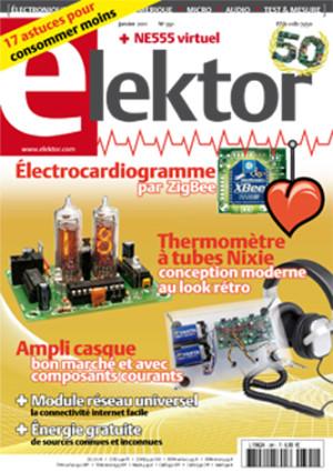 Elektor de janvier 2011 va paraître