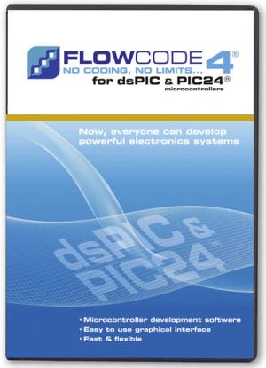 Nouveau : Flowcode 4 pour dsPIC/PIC24