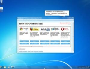 Choisissez vous-même votre navigateur avec Windows !