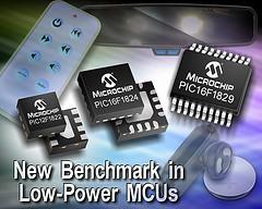 Les PIC de Microchip, plus ils en font, moins ils consomment