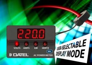 Multimètres de puissance AC à quatre fonctions avec lecture de la fréquence