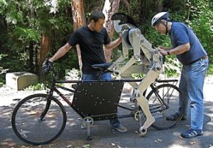 Joules, un robot qui pédale à votre place
