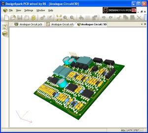 DesignSpark PCB maintenant en 3D