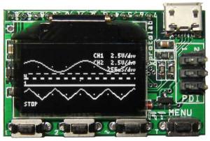 Oscilloscope / générateur de fonctions pour 25 euros