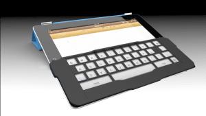 iKeyboard : un astucieux gabarit pour clavier tactile