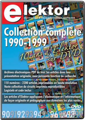 34% de remise sur le DVD Elektor 1990-1999