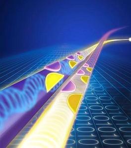 La diode optique conduit la lumière dans un seul sens