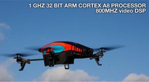 L'AR Drone de Parrot : pour espionner son voisin
