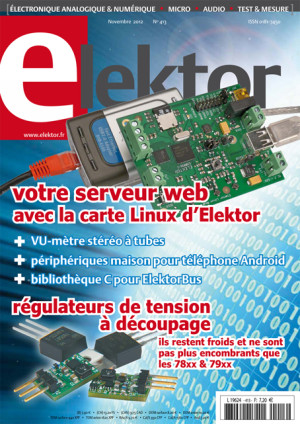 Elektor de novembre : parution imminente