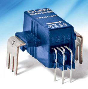 Capteurs de courant sans shunts résistifs (jusqu'à 50 A)