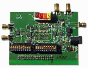 Test de MOST avec un modèle de câble