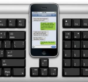 Un clavier commun pour PC, Mac et... téléphone tactile !