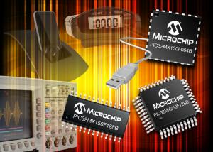 Microcontrôleurs économiques à 32 bits chez Microchip