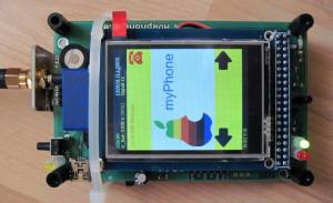 Un téléphone tactile propulsé par AVR