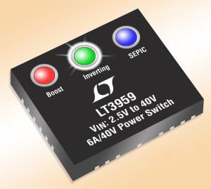 Nouveau convertisseur CC-CC élévateur, SEPIC ou inverseur