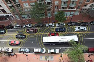 Communication entre véhicules et infrastructure routière