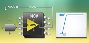 Amplificateur opérationnel de précision sous 140 V