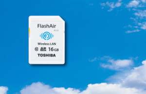 Toshiba FlashAir : une carte SD mains libres !