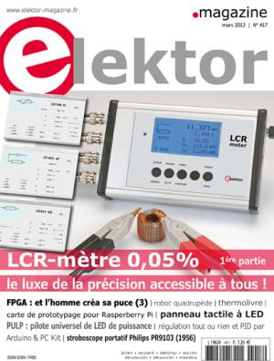 Le numéro de mars d'Elektor vient de paraître