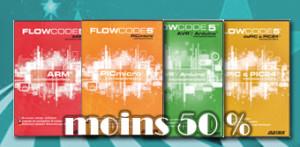 Festival Estival : moins 50 % sur le logiciel Flowcode 5