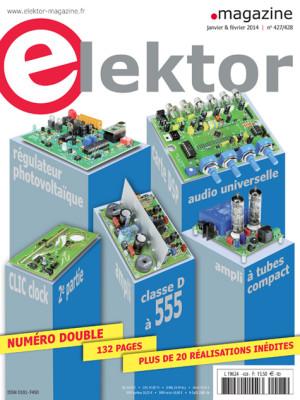 En kiosque : numéro double d'Elektor de janvier-février 2014