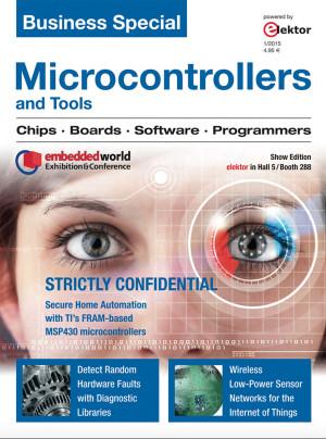 "Téléchargez gratuitement: Elektor Business Special: ""Microcontrollers & Tools"""