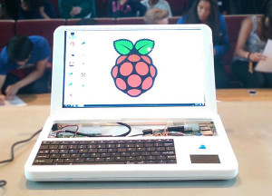 Raspberry Pi se change en ordinateur un portable