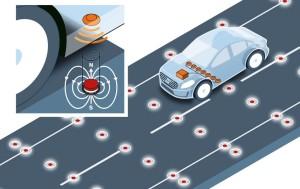 La voiture sans conducteur pourrait être magnétique