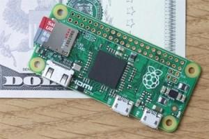 Nouveau Raspberry Pi Zero : 5 € (?) et pas plus gros qu'une framboise écrasée
