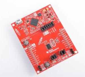 Système de développement MSP430 Launchpad. Illustration: Texas Instruments.