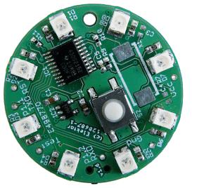 Projet n° 1 cirboucle d'oreille à LED