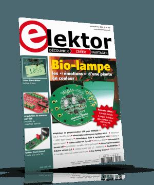Le nouveau numéro d'Elektor (janvier-février 2018)