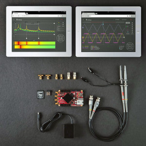 Le kit Calibrated Diagnostic du Red Pitaya.