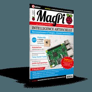 MagPi, le magazine du Raspberry Pi : premier numéro disponible en kiosque.
