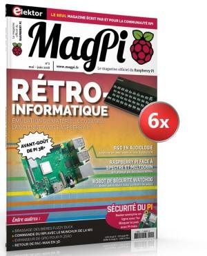 Ne manquez aucun numéro du MagPi !